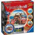 RAVENSBURGER PUZZLE BALL 3D DISNEY CARS NIGHT-LIGHT (108pcs) (11657)