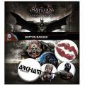 BATMAN ARKHAM KNIGHT PIN BADGE PACK (6 PINS)